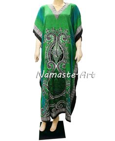 Beautiful Indian Design Maxi Cover All Season Beach Any Free Size Casual Dress #Unbranded #Kaftan #Casual
