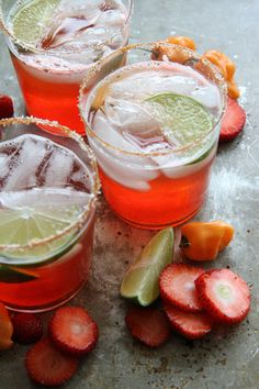 Strawberry Habanero Margarita by Heather Christo (love her!!)