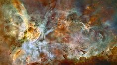 In celebration of the 17th anniversary of the launch and deployment of NASA's Hubble Space Telescope, a team of astronomers is releasing one of the largest panoramic images ever taken with Hubble's cameras. It is a 50-light-year-wide view of the central region of the Carina Nebula where a maelstrom of star birth - and death - is taking place. Hubble's view of the nebula shows star birth in a new level of detail. The fantasy-like landscape of the nebula is sculpted by the action of…