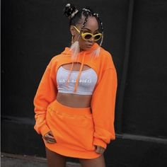 Baddie Outfits – Page 4804665097 – Lady Dress Designs Neon Outfits, Swag Outfits, Stylish Outfits, Girl Outfits, Ghetto Outfits, Hip Hop Outfits, Look Fashion, 90s Fashion, Fashion Outfits
