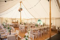 Just received a lovely photo from August's wedding. They decorated the marquee beautifully! Photo - Laura Eddolls Photography @_LauraLou