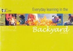 everyday learning in the backyard