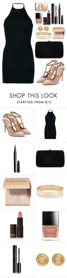 """""""Untitled #773"""" by alissar13 ❤ liked on Polyvore featuring Valentino, Balmain, Marc Jacobs, Sergio Rossi, Bobbi Brown Cosmetics, Stella & Dot, Lipstick Queen, Chanel, Versace and Gucci"""