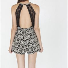 """NORDSTROM RACK Haltered romper w. Open back Check out at pa-closet.com to get extra 10% off, enter """"First"""" MonoB Dresses"""