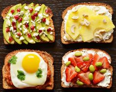 Fancy Breakfast Toasts 21 Easy Brunch Dishes Even The Most Hungover Person Could Make Breakfast Toast, Breakfast Recipes, Breakfast Ideas, Brunch Recipes, Healthy Filling Breakfast, Banana Breakfast, Recipes Dinner, Healthy Snacks, Healthy Eating