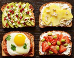 Daca esti in cautarea unui mic dejun energizat, satios si rapid in acelasi timp, avem cele mai bune idei. Iata ce poti face dintr-o felie de paine prajita.