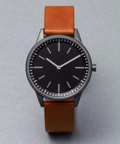人気 251 Series PVD Gun Grey / Tan Leather | メンズ - 腕時計|海外通販ならLASO(ラソ)