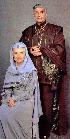 Family Portrait - Sarek and Amanda, Spock's parents