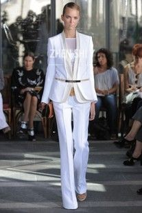 Suit up on pinterest woman suit suits and pant suits for Women s haute couture clothing