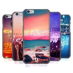 HEAD CASE DESIGNS WORDS TO LIVE BY 4 HARD BACK CASE FOR APPLE iPHONE PHONES | eBay