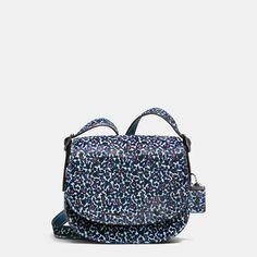 7700ad5189 COACH Coach 1941 Saddle Bag 23 In Printed Haircalf Coach Saddle Bag