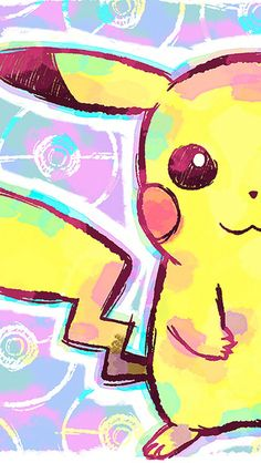 Colorful Pikachu