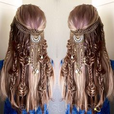 Boho Hairstyles by lalasupdos