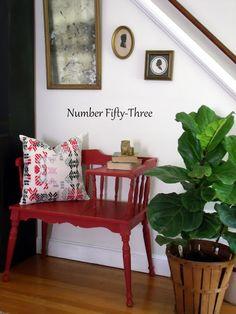 Number Fifty-Three: Vintage Gossip Bench