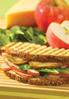 Chicken Apple Smoked Gouda Grilled Cheese