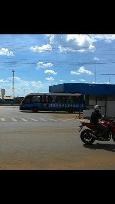 Ônibus articulado Goiânia