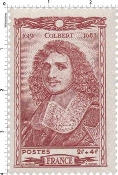 Timbre 1944 : COLBERT 1619-1683 | WikiTimbres