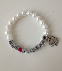Just Married Name Bracelet