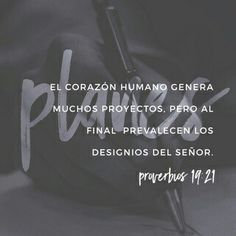 Proverbios 19:21