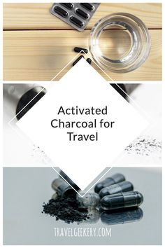 With so many activated charcoal uses such as for stomach, the teeth etc., this article focuses on activated charcoal use for traveler's diarrhea. It explains what activated charcoal is, why activated charcoal capsules are best for travelling and where to buy activated charcoal. Incl. info on activated charcoal safety, its benefits and possible side effects of activated charcoal for travel. #activatedcharcoal #travel #diarrhea #travelersdiarrhea #bloating #foodpoisoning #travelgeekery Best Shoes For Travel, Best Travel Gifts, Travel Tips For Europe, Activated Charcoal Uses, Activated Charcoal Capsules, Travel Items, Travel Products, International Travel Tips, Amazing Destinations