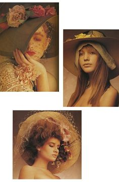Hats, hats, hats.