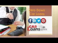 zero down car loans with bad credit