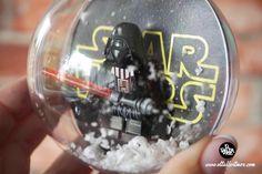 Bola Navidad Lego, Diy, Navidad , decoracion... Snow Globes, Diy Ideas, Things To Do, Cool Inventions, Christmas Presents, Crates, Blue Prints, Manualidades, Things To Make