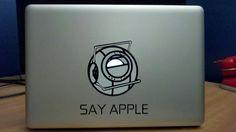 Portal 2 Macbook Vinyl Decal Wheatley - $9.99