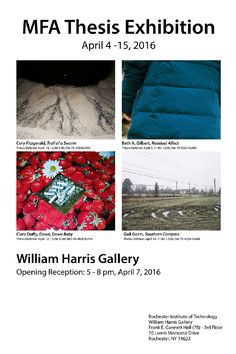 MFA Thesis Exhibition inaugurated at William Harris Gallery