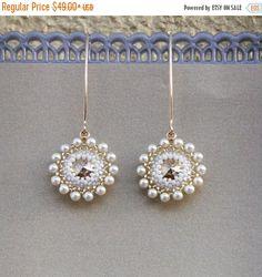 VENTA Collar perla pendiente pendiente de perlas por LioraBJewelry
