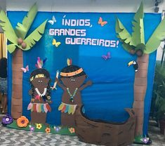 Painel dos indios Fun Crafts, Diy And Crafts, Crafts For Kids, Culture Day, Class Decoration, Opening Day, Ad Design, Indian Art, Native American