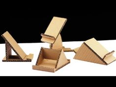 Make 4 Different Styles Of Mobile Phone Stand Using Cardboar.- Make 4 Different Styles Of Mobile Phone Stand Using Cardboard – How to M… Make 4 Different Styles Of Mobile Phone Stand Using Cardboard – How to M… - Desk Phone Holder, Iphone Holder, Iphone S6 Plus, Iphone Phone, Phone Case, Diy Iphone Stand, Diy Cell Phone Stand, Support Iphone, Pochette Portable