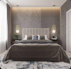 Modern Luxury Bedroom, Master Bedroom Interior, Luxury Bedroom Design, Room Design Bedroom, Modern Master Bedroom, Bedroom Furniture Design, Bedroom False Ceiling Design, Home Room Design, Luxurious Bedrooms