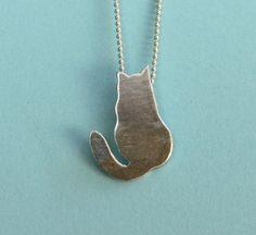 Love this cat jewelry!