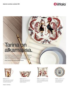 Tarina on alkamassa / Fiskars Home/Iittala