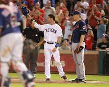 Michael Young's 2000th Hit, Texas Rangers, 8/7/2011