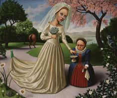 """The Bride"" by Marion Peck"