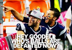 Hey Rawjah! Yeah, Brady and Edelman are lookin' at you! #Patriots