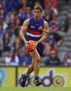 Tom Liberatore from the Western Bulldogs