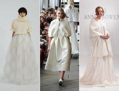 10 New Wedding Dress Trends for 2015 -- Cozy Sweater Wedding Dresses