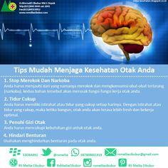 Otak sehat #rsmeilia #meilia #cibubur #depok #cileungsi #bekasi #bogor #jakarta #rumahsakit #sehat #sakit #terbaik Tips, Counseling