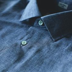 The Hyde in Indigo Cotton and Linen - alternate view
