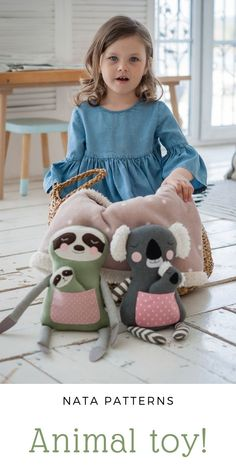 Animal sewing patterns PDF Stuffed toys tutorial Koala Sloth Plush Softie Easy tutorial Stuff animal doll Beginner sewing for kids Fabric doll PDF / выкройка мягкой игрушки коала ленивец мастер класс Animal Sewing Patterns, Sewing Patterns For Kids, Stuffed Animal Patterns, Sewing For Kids, Stuffed Animals, Softies, Kinder Chocolate Cake, Diy Quilt, Baby Toys