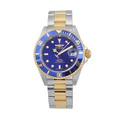 Invicta Men's Pro Diver Two Tone Stainless Steel Automatic Watch - KH-IN-8928, multicolor