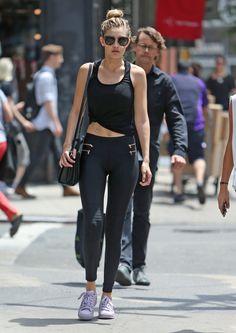 Gigi Hadid Workout Style