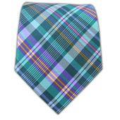 Zenith Plaid - Purple/Green Teal - Zenith Plaid - Purple/Green Teal Ties...$15 @ The Tie Bar