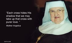 ‪#‎Lent2015‬ ‪#‎MotherAngelica‬ ‪#‎EWTN‬ ‪#‎Catholic‬ ‪#‎Cross‬ ‪#‎love‬