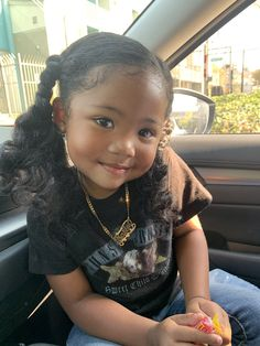 Cute Mixed Babies, Cute Black Babies, Beautiful Black Babies, Cute Little Baby, Pretty Baby, Cute Babies, Black Little Girls, Cute Little Girls Outfits, Mix Baby Girl