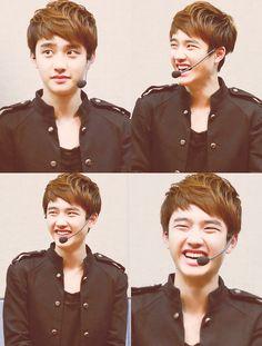 Do Kyungsoo EXO-K why so cute?? haha