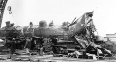 Old Steam Locomotives | Wreck of SP steam locomotive 2479 at Selma, CA (south of Fresno) in ...